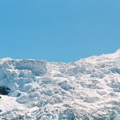 Magestueux glaciers des Alpes
